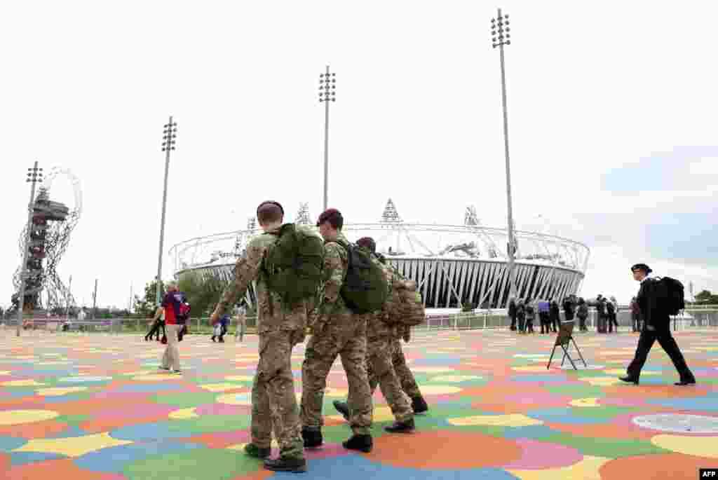 Беспрецедентные меры безопасности приняты в Олимпийском парке