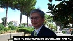 Президент Світового конгресу українців Євген Чолій, Рим, 16 вересня 2010 року