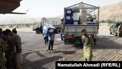 انتقال مواد حساس انتخابات به مراکز رأیدهی در ولایت بدخشان