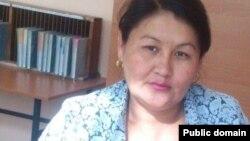 Айнур Куленбаева, учитель средней школы из Илийского района Алматинской области.