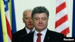Петро Порошенко і Джо Байден (архівне фото)