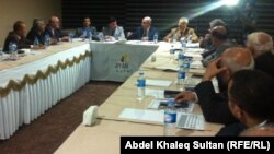 قضاة في ورشة عمل بدهوك لمناقشة إجراء تعديلات على قانون السلطة القضائية في كردستان.