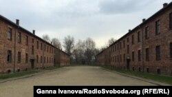 Один із нацистських концтаборів «Аушвіц-Біркенау». Освенцім, Польща. Листопад 2014 року