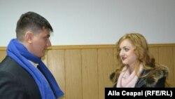 Roman Galbur și Cristina Ciobanu