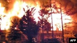 Полска - пожари