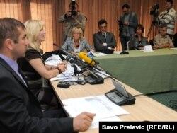 Konferencija za novinare sindikalnih predstavnika medicinara, 13. oktobar 2011