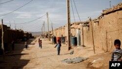 اردوگاه پناهندگان افغان در روستای طراز ناهید ساوه.