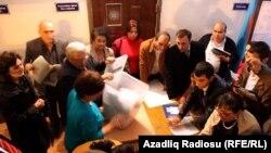 Parlament seçkiləri, səslərin sayılması, 7 noyabr 2010