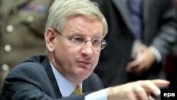 کارل بیلدت وزیر خارجه سوئد