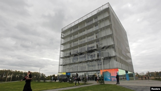 The Skolkovo Innovation Center in Moscow (file photo)