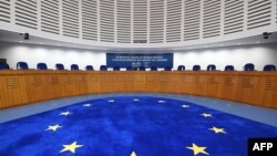 France - The European Court of Human Rights in Strasbourg, January 24, 2018.