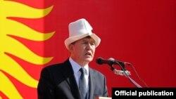 Президент Кыргызстана.
