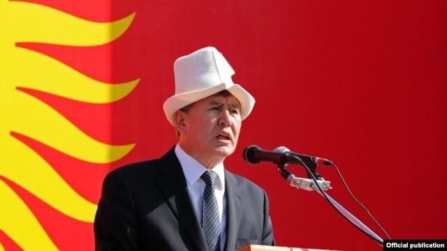 Kyrgyz President Almazbek Atambaev
