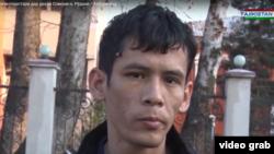 Ограбленный в Таджикистане студент Ахун Мырадов. Кадры из опубликованного на YouTube видеоролика