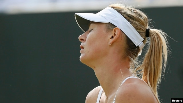 Maria Sharapova crashed out of Wimbledon last month.