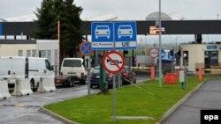 Архівне фото. Пункт пропуску на польсько- українському кордоні «Медика-Шегині». Квітень 2017 року