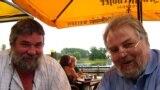 Foştii opozanţi est-germani, Wolfram Tschiche şi Lutz Rathenow