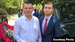 When Furqat Vatanov (right) left Tajikistan to join Islamic State in Syria, his father, Amriddin (left), immediately alerted the authorities in Dushanbe.