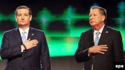 Ted Cruz və John Kasich Trumpa qarşı alyans yaradıblar
