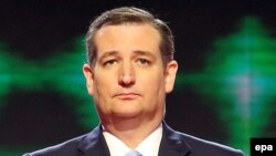 Тед Круз на дебатах претендентов на пост президента США от Республиканской партии. Майами, 10 марта 2016 года.