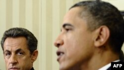 Барак Обама и Никола Саркози