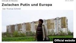 Berliner Zeitung despre Moldova