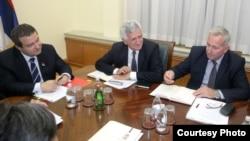 Sa sastanka Ivice Dačića i predstavnika Albanaca sa juga Srbije