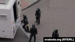 АМАП у Горадні. 31 кастрычніка.