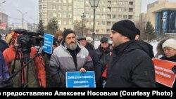 Пикет 6 декабря в Новосибирске против концессии по строительству четвертого моста