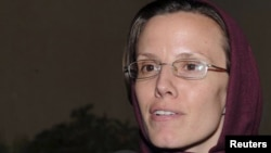 Sarah Shourd is back in the United States after her ordeal in Tehran's Evin prison.