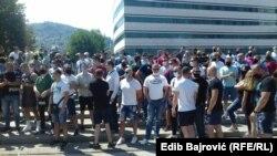 Protest privrednika i ugostitelja u Sarajevu