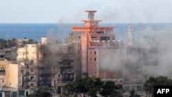 Місто Бенгазі, Лівія, архівне фото