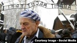 Игорь Малицкий на церемонии в день 70-летия освобождения концлагеря Освенцим