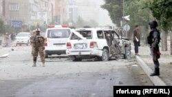 حمله انتحاری به کاروان انتخاباتی عبدالل عبدالله- کابل٬ ۱۶ خردادماه ۱۳۹۳