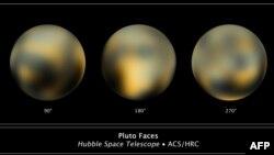 Planeta Pluton kroz Hubble teleskop