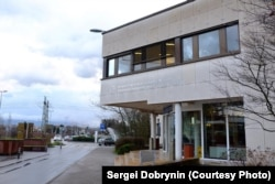 Главный вход в кампус ЦЕРНа