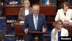 Сенатор Чак Шумер критикует решение Трампа об увольнении Коми