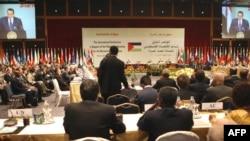 کنفرانس بينالمللی کمک به بازسازی غزه در شرمالشيخ مصر، دوشنبه ۱۲ اسفند ۱۳۸۷