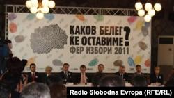 Ditë më parë, partitë politike në Maqedoni kanë nënshkruar kodin për zgjedhje të lira dhe të drejta.