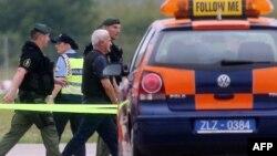Хорватия полицияси.
