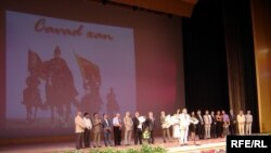 Azerbaijan -- A ceremony dedicated to the Cinema Day in Baku, 31Jul2009