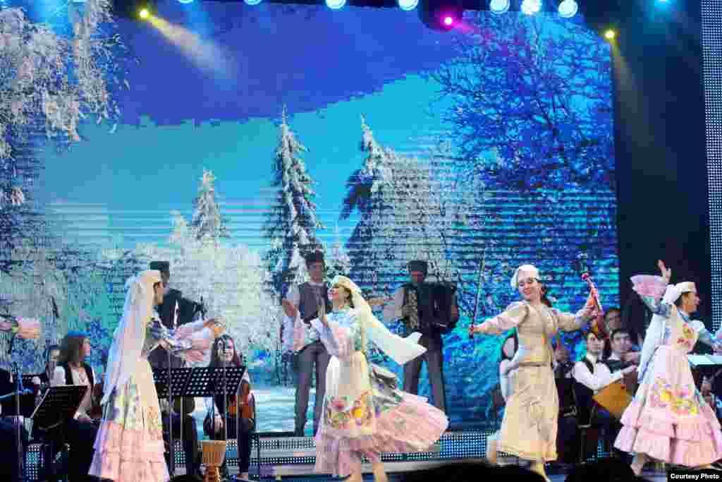 Татарстанның фольклор музыкасы дәүләт ансамбле