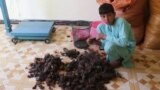 Lucrative Locks: Afghanistan's Human-Hair Hunters video grab 2