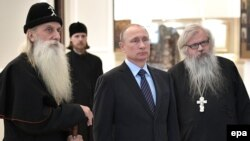 Путин у старообрядцев