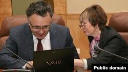 """Илшат Әминов һәм Мәдинә Тимерҗанова. (""""Бизнес Online"""" фотосы)"""