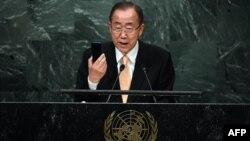 Birleşen Milletler Guramasynyň Baş sekretary Ban Ki-mun