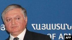 Armenian Foreign Minister Edward Nalbandian said his government is ready to talk to the opposition.