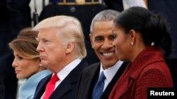 Остання публічна зустріч президентів США Дональда Трампа та Барака Обами відбулася 20 січня у Вашингтоні під час інавгурації 45-го президента