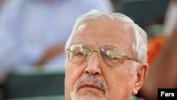 Ebrahim Yazdi in July 2006