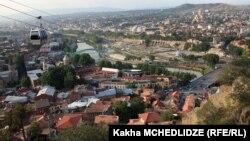 Տեսարան Վրաստանի մայրաքաղաք Թբիլիսիից